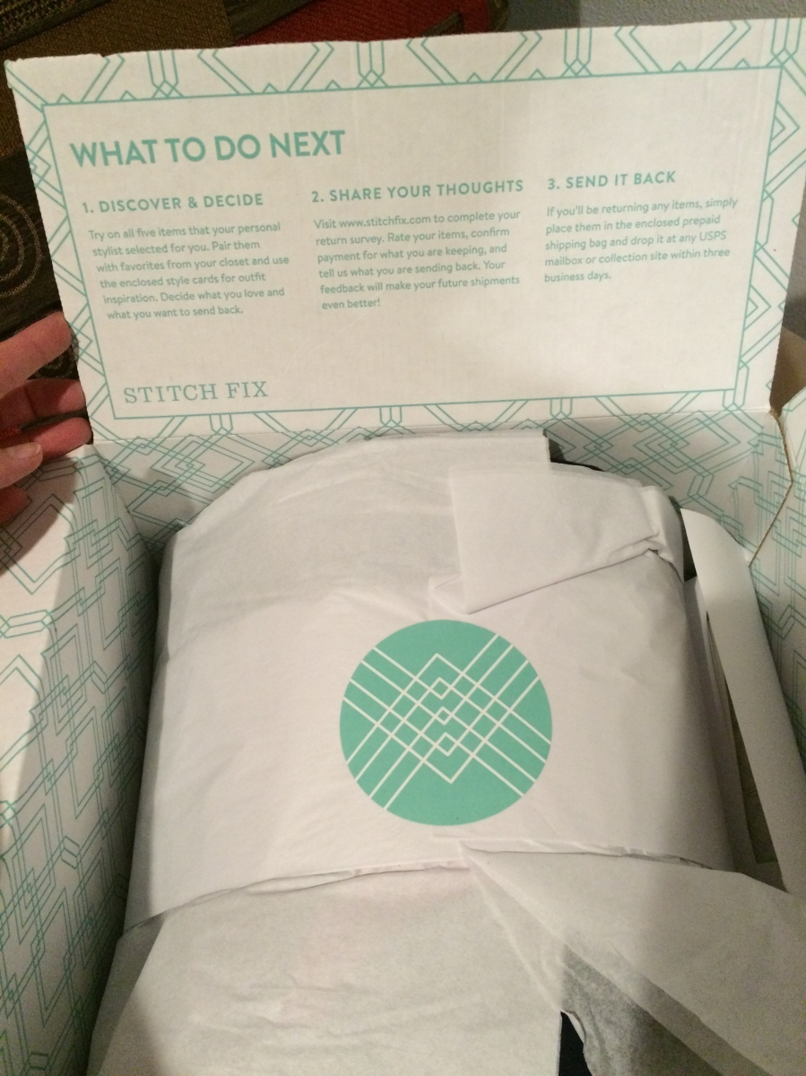 My Stitchfix Stash