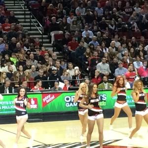 Blazer dancers