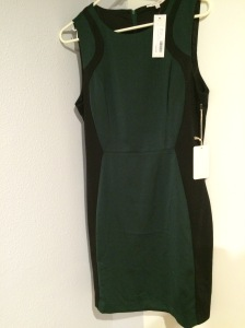 41Hawthorn- Maxx Sleeveless Illusion Sheath Dress