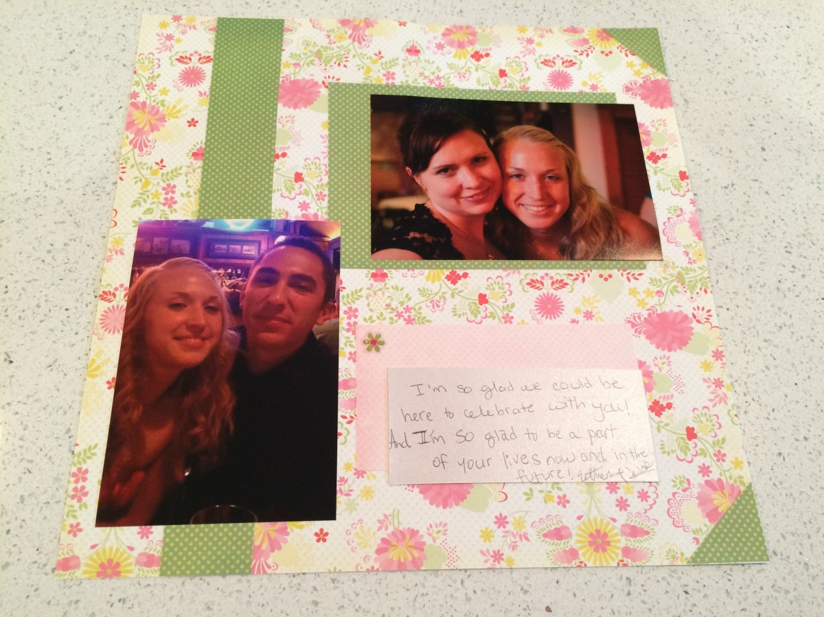 My Favorite Wedding Project- the Scrapbook Guestbook