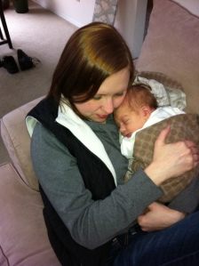 Jillian and Baby A