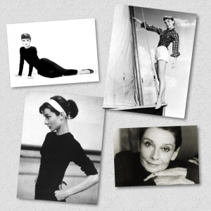 audrey collage