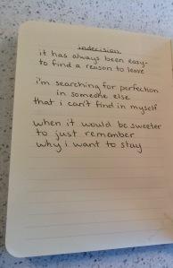 poem- indecision