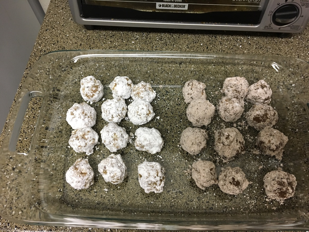 Delicious Rum Balls (and Vodka Balls!)