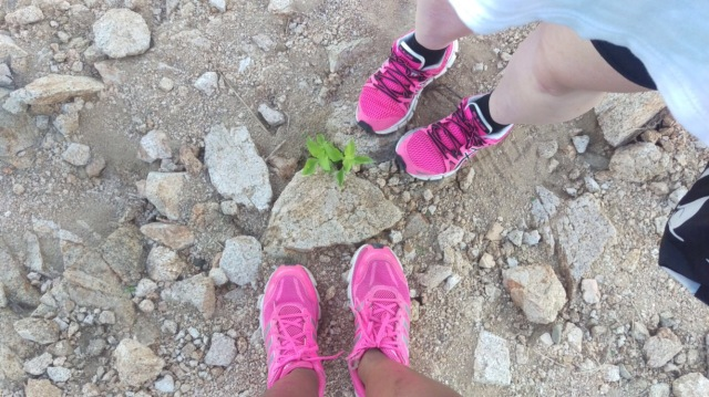 J and k's hiking shoes