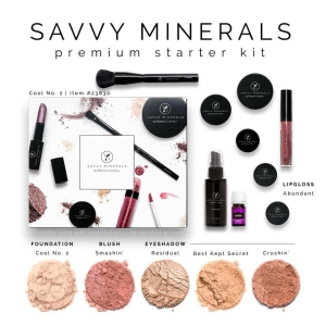 Savvy Minerals Starter Kit, Cool No. 2, $150