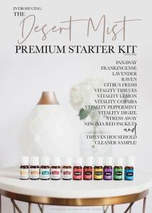 Premium Starter Kit with Desert Mist Diffuser- $160